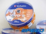 Verbatim DVD-R do nadruku z LOGO printable 25 szt