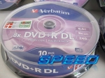 Verbatim DVD+R x8 Double Layer 8.5 GB cake 10