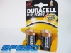 Baterie DURACELL alkaliczne PLUS R14 -2pack